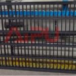 Composite shaker screen frame