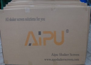 Aipu shaker screen