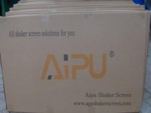 Shaker screen thumbnail