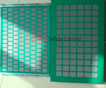 Shaker screen sample