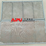 Wedge mesh shaker screen