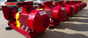 Solids control centrifugal pumps