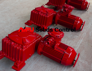 Solids control mud agitator and centrifugal pump