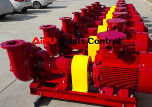 Solids contorl centrifugal pump