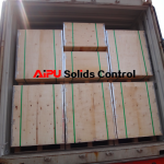 FCL shipment of screen panel