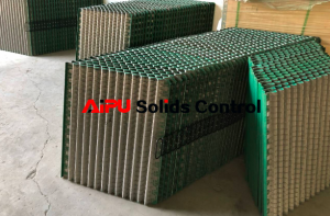Shaker screens conductance