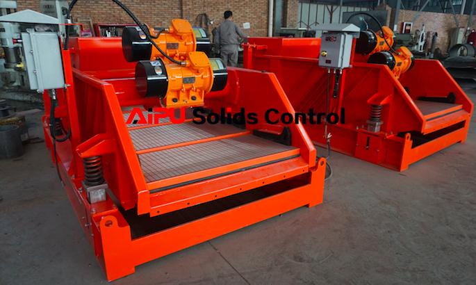 Top hot solids control equipment
