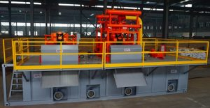 Trenchless mud recycling