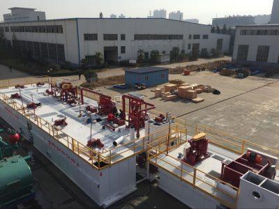 Drilling fluids processing system
