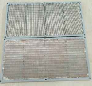 Shaker screens for double decked shaker