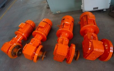 drilling mud agitators