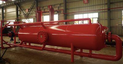 mud gas separator degassing capacity