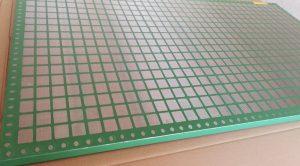 Screen mesh size
