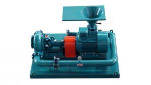 Mixing hopper pump